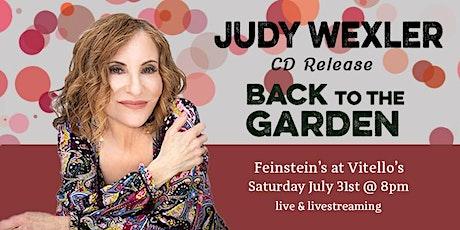 Judy Wexler: BACK TO THE GARDEN - CD Release tickets