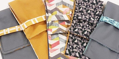 Made by You! How to Sew a Cutlery Pouch tickets