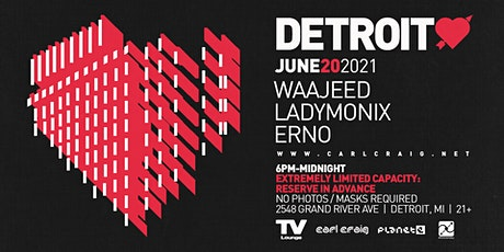 Detroit Love @ TV Lounge - 6/20/21 tickets