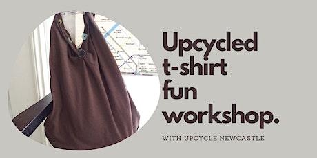 Upcycled t-shirt fun workshops  -Kurri Kurri Library tickets