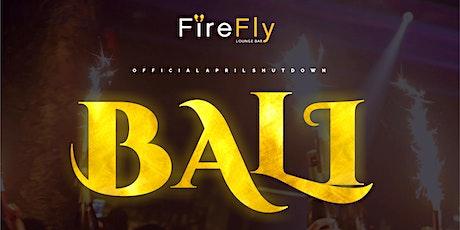 BALI - SUMMER JAM tickets