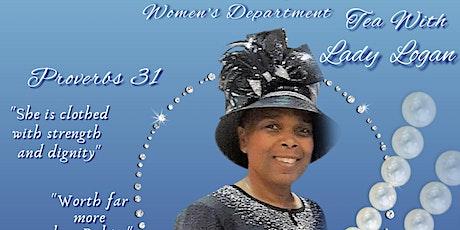 Tea With Lady Carolyn L.J. Logan tickets