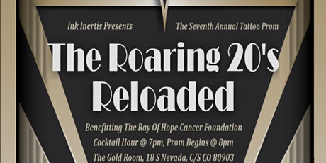 Ink Inertia Presents The 7th Annual Tattoo Prom: The Roaring 20's Reloaded tickets