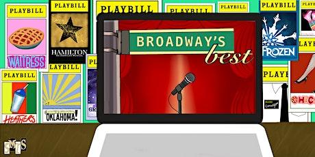 Broadway's Best: An Online Showcase tickets