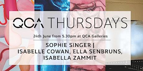 QCA Thursdays: Sophie Singer, Isabelle Cowan, Ella Senbruns,Isabella Zammit tickets