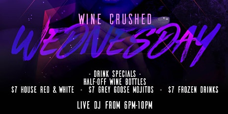 Wine Crush Wednesday  Downtown Tampa tickets