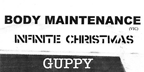 Body Maintenance tickets