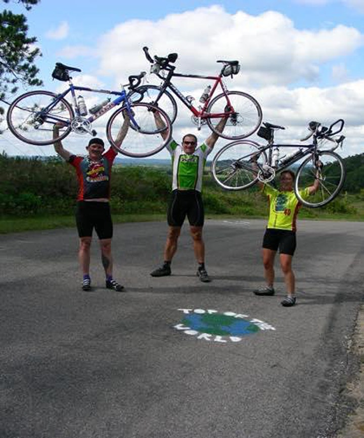 Top of the World Bicycle Tour, Whitehall, Wisconsin image