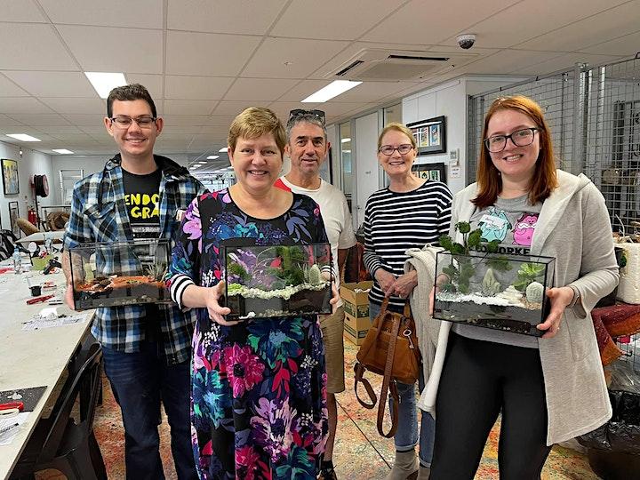 Rectangular terrarium workshop image