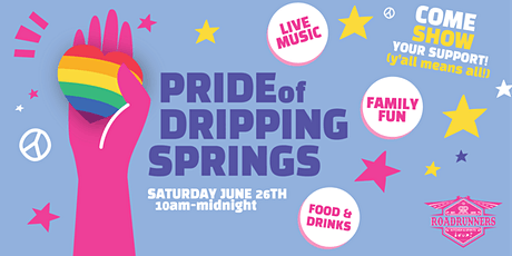 Pride of Dripping Springs 2021 tickets