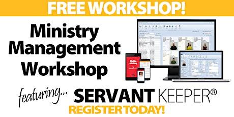 Dallas - Ministry Management Workshop tickets