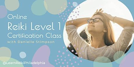 Online Reiki Level 1 Weekend Class tickets