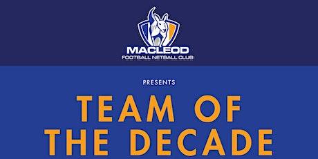 Team of the Decade @ MFNC Presentation Night tickets