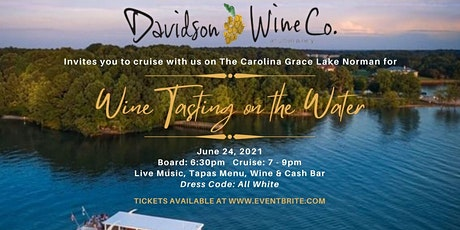 Wine Tasting on the Water tickets