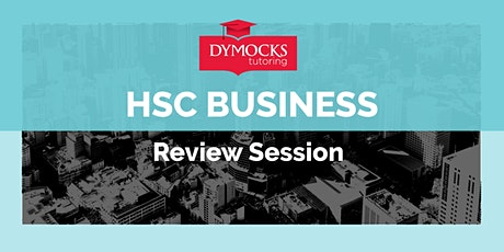 Two week intensive - HSC Business Studies - Full Year Review tickets