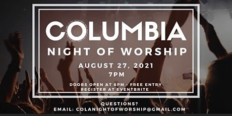 Cola Night of Worship tickets