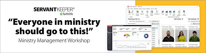 Dallas - Ministry Management Workshop image