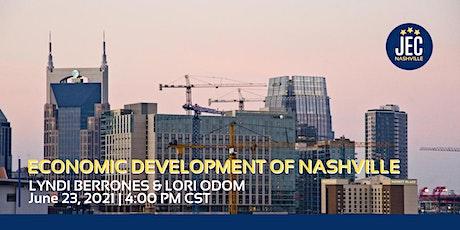 Economic Development in Nashville tickets