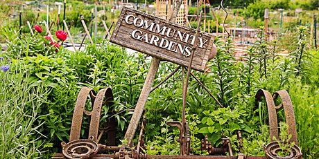 Community Gardening and Urban Food Production tickets