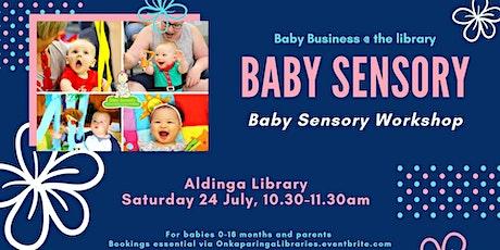 Baby Sensory- Aldinga Library tickets