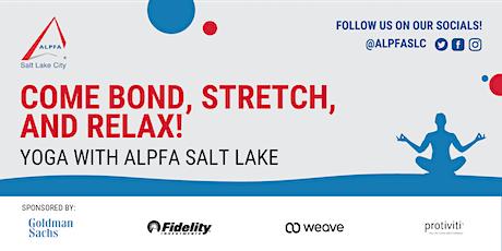 ALPFA Salt Lake City Chapter Morning Yoga tickets