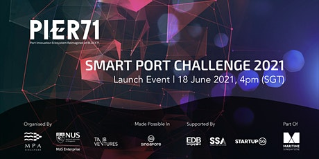 Launch of Smart Port Challenge 2021 tickets