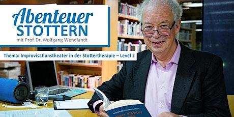 ABENTEUER STOTTERN. Das Online-Seminar m. Prof. Dr. Wolfgang Wendlandt Tickets
