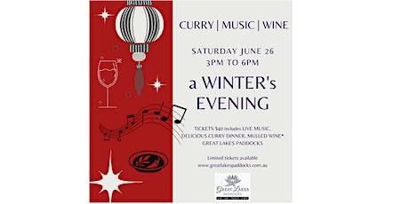 a Winter's Evening - 26 June 2021 tickets