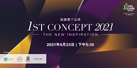1st Concept 2021 - The New Inspiration tickets