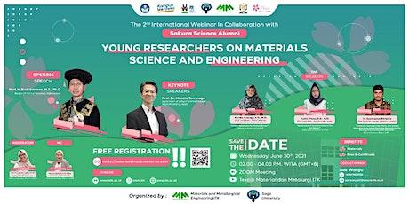 The 2nd International Webinar In Collaboration with Sakura  Science Alumni tickets