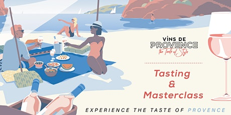 Wines of Provence- Tasting and Masterclass tickets