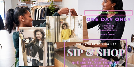 NYC TAKE OVER - SMALL BUSINESS POP UP SHOP tickets