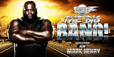 Stand Alone Wrestling Presents:The Big Bang tickets