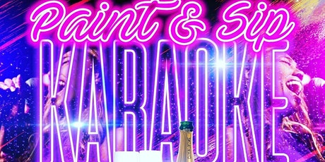 Paint and Sip Karaoke tickets