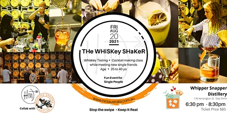 THe WHiSKey SHaKeR - 25 to 40 yo tickets