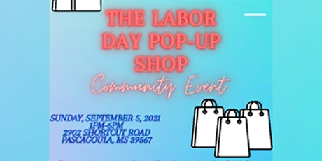 The Labor Day Pop-Up Shop tickets
