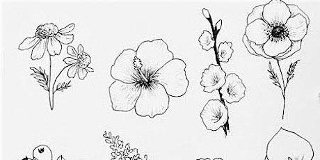 Doodling Flowers, Teens & Adults Class tickets