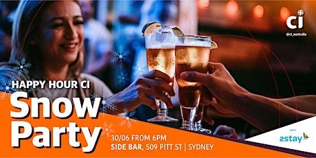 HAPPY HOUR CI Sydney - Snow Party tickets