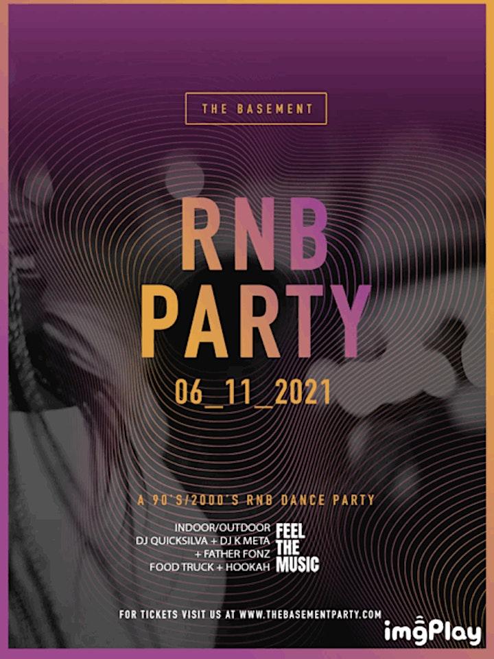 The Basement: RNB PARTY: 90s/2000s image