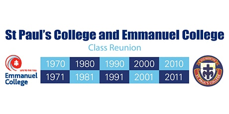 St Paul's College and Emmanuel College Class Reunion tickets