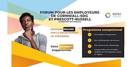 Forum pour les employeurs  de Cornwall-SDG  et Prescott-Russell billets