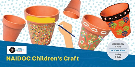 Naidoc Children's Craft - Whitlam Library tickets