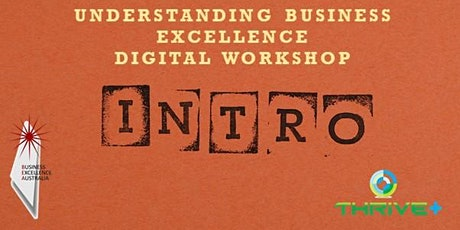 Understanding Business Excellence - Digital Workshop tickets