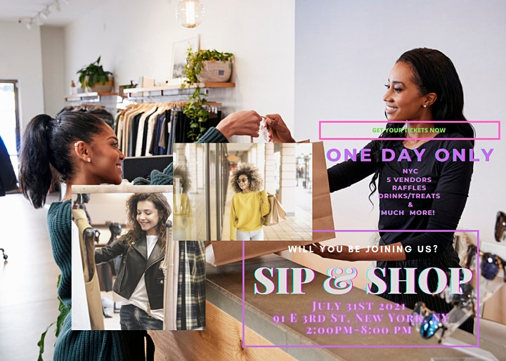 NYC TAKE OVER - SMALL BUSINESS POP UP SHOP image