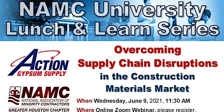 Overcoming the Supply Chain Disruptions in the Construction Materials Marke tickets