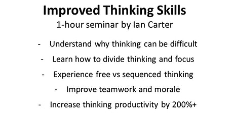 Improved Thinking Skills tickets