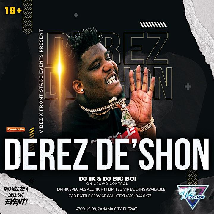 Derez De'Shon LIVE at Vibez image