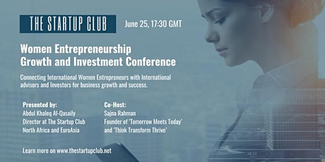 Women Entrepreneurship Growth and Investment Conference tickets