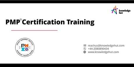 Project Management Professional Certification (PMP®) in Amsterdam tickets