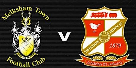 Pre-season friendly- Melksham Town FC V Swindon Town FC tickets